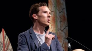 Benedict Cumberbatch Reading An Author S Letter