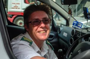 Jeanette, Patient Transport Driver