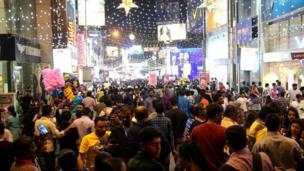 बेंगलूरु में नए साल का जश्न