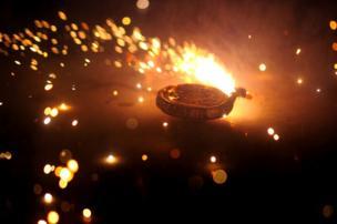 A firecracker