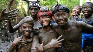 เด็กชาวเกาะบาหลี