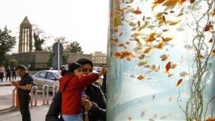 گردشگران نوروزی در همدان