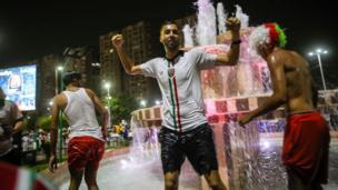 مشجعو الجزائر