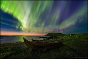 O vencedor na categoria Beleza foi Adam Woodworth, dos EUA, com essa foto tirada em Newfoundland, no Canadá.