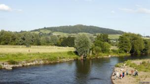 Caeau'r Castell - lleoliad maes yr Eisteddfod // Castle Fields, home the National Eisteddfod in 2016
