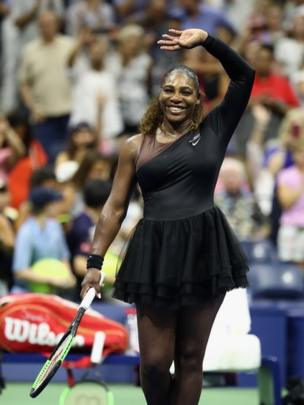 Serena Williams en el US Open.