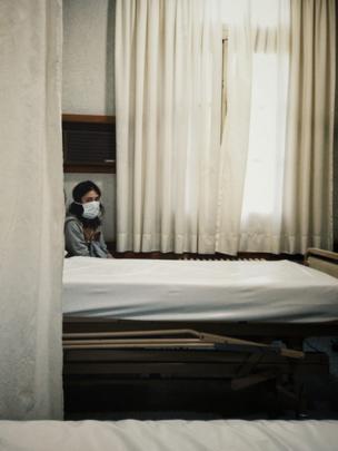 Renata en el hospital