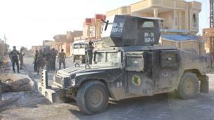 قوات مكافحة الإرهاب في تلعفر