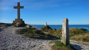 Llanddwyn Island off Anglesey