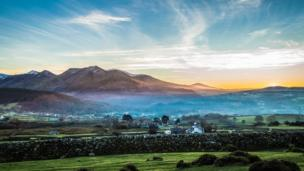A beautiful way to escape the Christmas crowds, this wintry shot of Bethesda in Snowdonia was taken by Chris Davies
