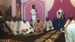 Aworan igbakeji Aarẹ ni ilu Ilorin