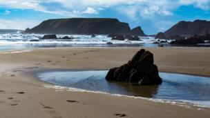 Marloes Sands by Phil Davies