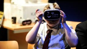 A Young Reporter experiences some BBC journalism in virtual reality