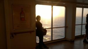 Atardecer en el Canal de la Mancha
