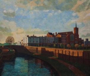 حديقة مايل إند والقناة، شرقي لندن عام 1986