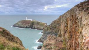 South Stack Lighthouse, Holyhead on Anglesey