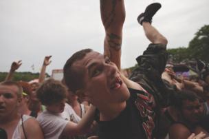 Warped Tour, Holmdel, New Jersey, 2012