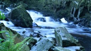 Rapids at Betws Y Coed