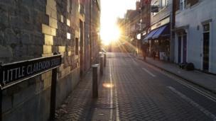 Little Clarendon Street in Oxford