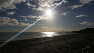 Kirkcaldy beach