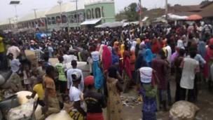 Dandazon masoya Buhari suna murna