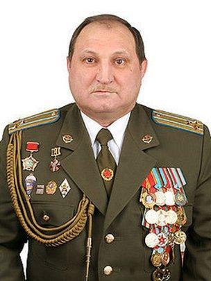 """ولادیمیر شریفف، افسر تاجیکتبار نیروی ویژه """"گرو"""""""