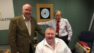 Stephen Nolan, with John Bennett and Walter Love