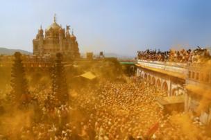 احتفال ديني بالهند