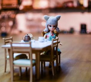 Una muñeca pequeña
