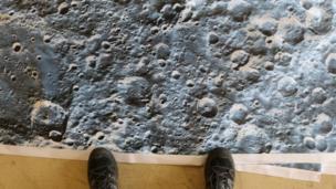 The lunar landscape