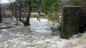 The River Derwent at Belper
