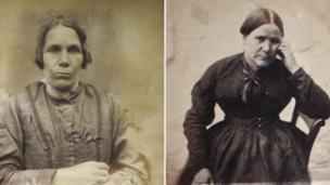 Oxford Castle mugshots of women
