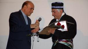 حجت الله فغانی، سفیر ایران در تاجیکسستان - رضا کیانیان، بازیگر ایرانی