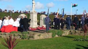 The Rhyl cenotaph