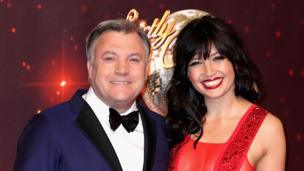 Ed Balls and Daisy Lowe