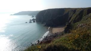 Lindsway Beach, Pembrokeshire.