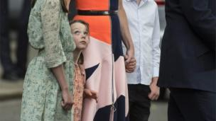 Florence Cameron, David Cameron's youngest child