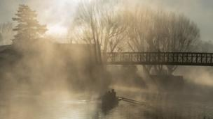 Rowing on River Lea