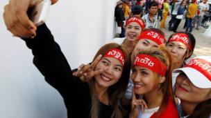 Hari Buruh, pekerja, Kamboja, Phnom Penh