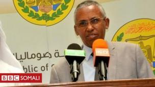 Sacad Cali Shire, wasiirka arrimaha dibedda Somaliland