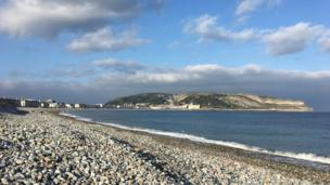 This shot of Llandudno sea front and the Great Orme was taken by Alan Jones