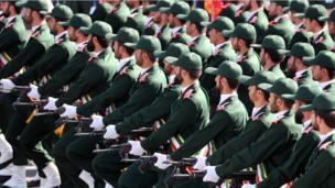 استعراض عسكري في طهران