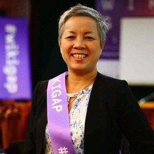 Bà Nguyễn Vân Anh, Giám đốc Trung tâm nghiên cứu ứng dụng khoa học về giới - gia đình - phụ nữ và trẻ em vị thành niên (CSAGA)