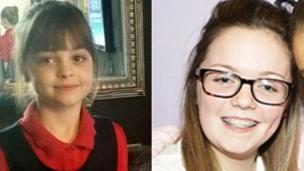 8岁的萨菲·鲁索斯和18岁的乔治亚娜·卡兰德不幸遇难