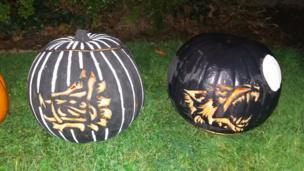Charlie's pumpkin