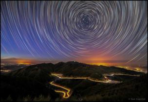 Rastro de Estrellas en le Monte Liupan