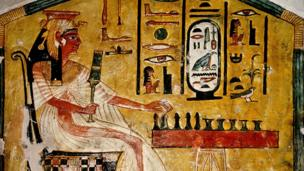 Ancient Egyptian board game