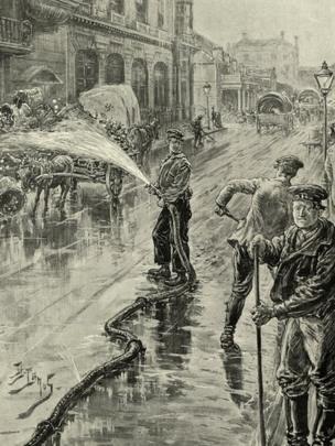 Pandemia de cólera en Londres en 1890.