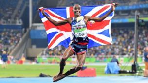 Британиялык жеңил атлет Мо Фара - 5000 метр аралыктагы олимп чемпион наамын алды