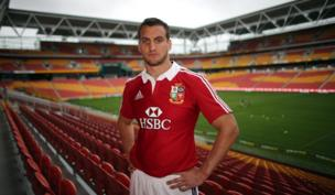 Sam Warburton Portrait before 1st Test Brisbane